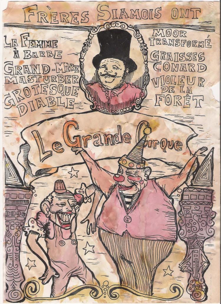 Le Grande Cirque guache-CamiloABSolano