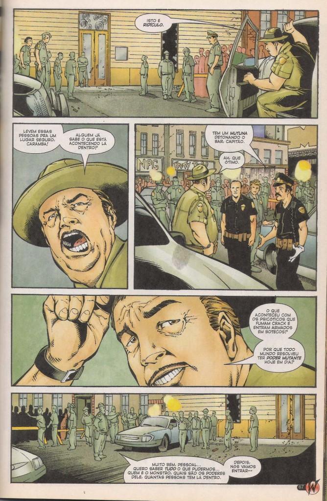 Diomedes em Wolverine
